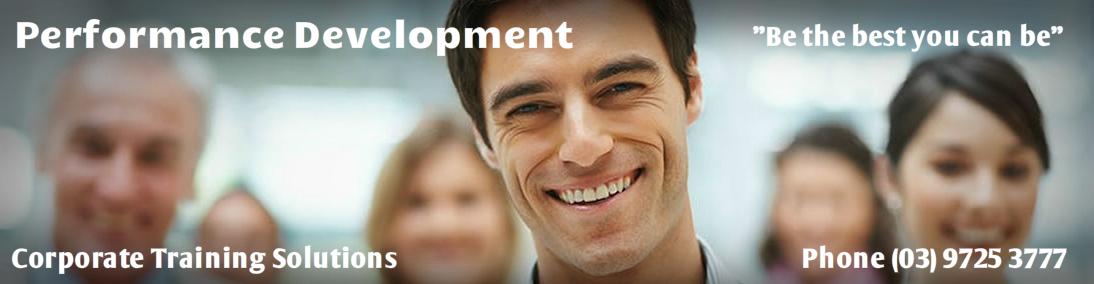 Performance Development - Management training
