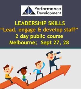 leadership course Melbourne promo