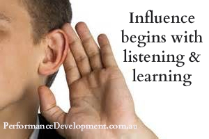 influencing tips