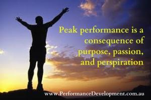 peak performance seminar