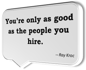hire good people