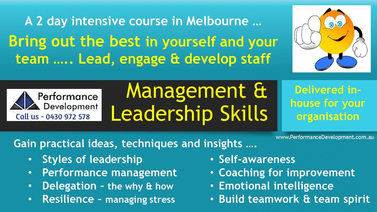 Leadership Training Melbourne Leadership Skills Course